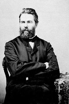 "Herman Melville (1819-1891) was an American novelist, short story writer, essayist, and poet. He is best known for his novel Moby-Dick. His first three books gained much contemporary attention (the first, Typee, becoming a bestseller), and after a fast-blooming literary success in the late 1840s, his popularity declined precipitously in the mid-1850s and never recovered during his lifetime. When he died in 1891, he was almost completely forgotten. It was not until the ""Melville Revival"" in…"