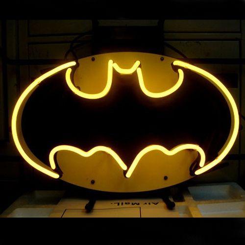 Batman Comic Hero Cerveza Bar Letreros de Neón - CartelNeon.com