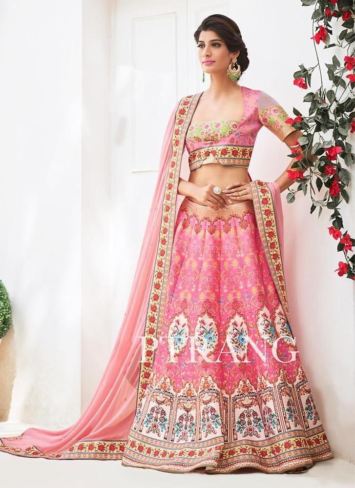 Pakistani Lehenga Choli Bollywood Wedding Indian Bridal Ethnic wear Traditional #TanishiFashion