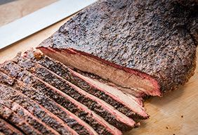 BBQ Injected Brisket with Traeger Coffee Rub