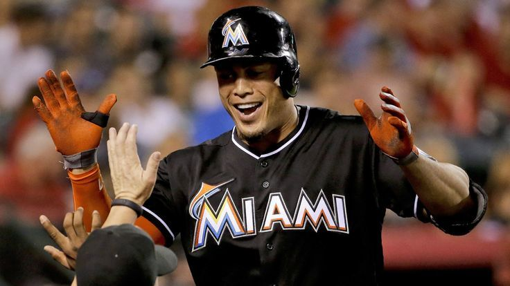 #Giancarlo Stanton agrees to $325-million contract with Miami Marlins  The Miami Marlins, publicly rebuked four years ago for not spending enough money on player salaries, are set to make outfielder Giancarlo Stanton the highest-paid athlete in North American sports history.  http://www.latimes.com/sports/sportsnow/la-sp-giancarlo-stanton-contract-marlins-20141117-story.html