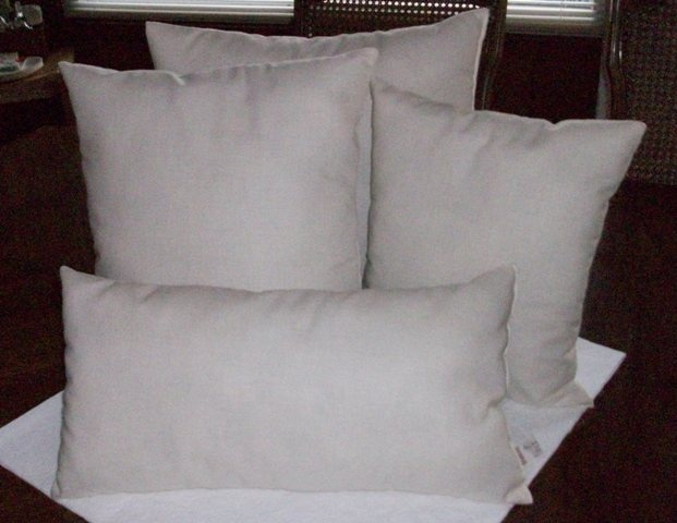 cotton muslin pillow inserts: Cotton Muslin, White, Pillows, Muslin Pillow, Pillow Inserts