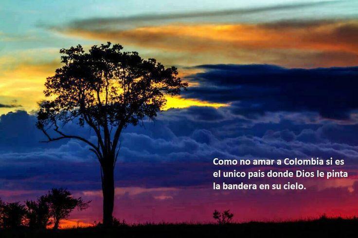Como no amar a Colombia!!