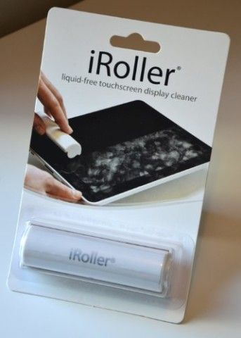iRoller: A liquid-free, reusable pocket sized touch screen cleaner for iPhones, iPads, and all mini touchscreen display devices. : Touch Screen Tablet Computer Accessories : Computers & Accessories