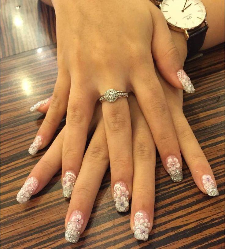 cool Красивый свадебный маникюр 2017 — Модные тенденции для современной невесты (50 фото)