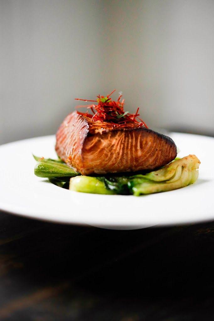 Tea-Smoked Five Spice Salmon
