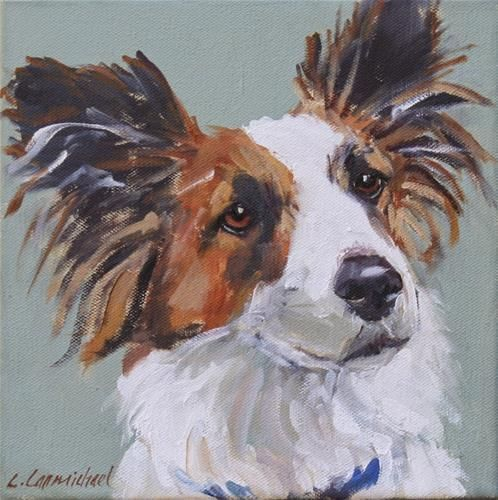 "Daily Paintworks - ""gusty"" - Original Fine Art for Sale - © Carol Carmichael"