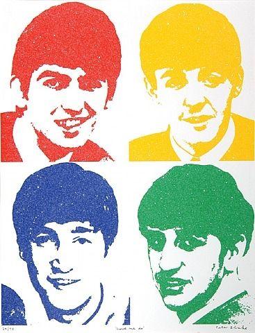 Peter Blake - Beatles 'Love Me Do'