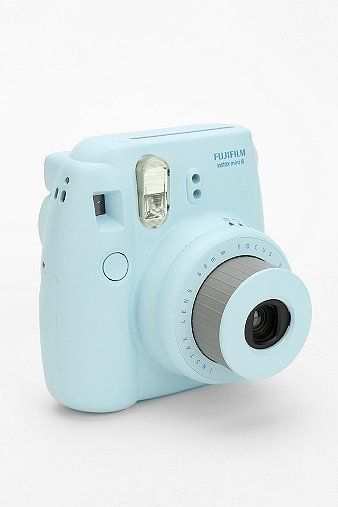 The newest mini version of Fuji's super stylish Instax Instant Camera. $100.00. urbanoutfitters.com SUPER cute! <3