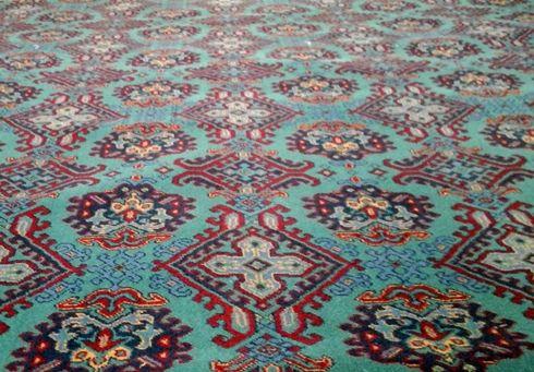 Turkey Smyrna Axminster carpet 80% wool and 20% nylon ...