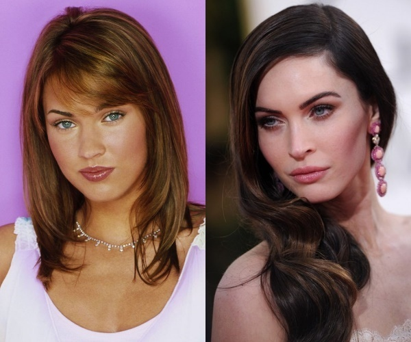 Rhinoplasty Before And After Megan Fox Before and A...