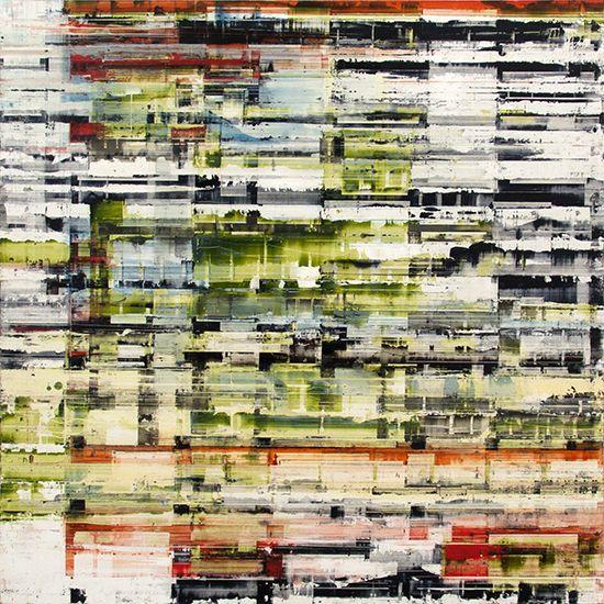 "Untitled 5.2, 2013, oil on panel, 24"" x 24"" (61 x 61 cm)"