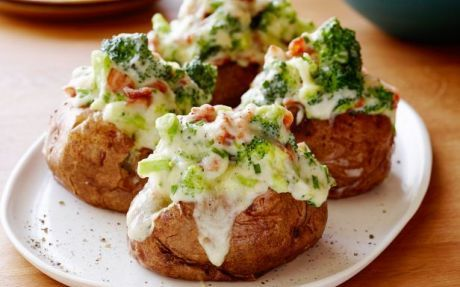 The Ultimate Jacket Potatoes Recipe by Tyler Florence : Food Network UK