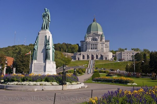 Another site of many miracles.   Saint Joseph's Oratory of Mount Royal, (French: Oratoire Saint-Joseph du Mont-Royal), is a Roman Catholic minor basilica and national shrine on the west slope of Mount Royal in Montreal, Quebec, Canada.