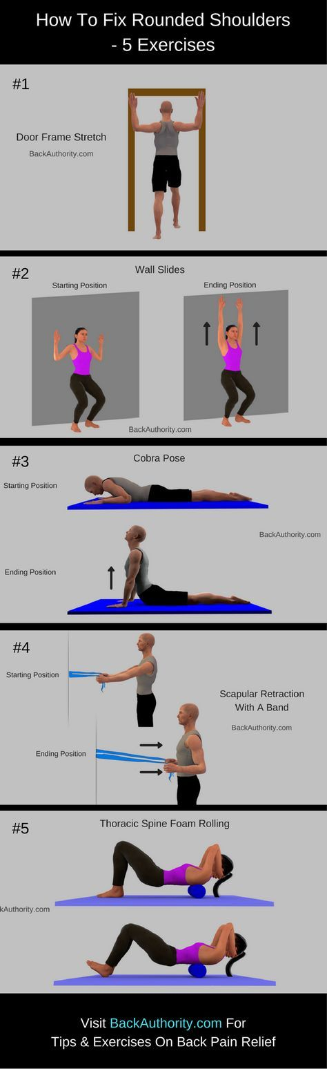 How To Fix Rounded Shoulders Posture - 5 Exercises for Rounded Shoulders. In this article you will learn Rounded shoulders exercises.