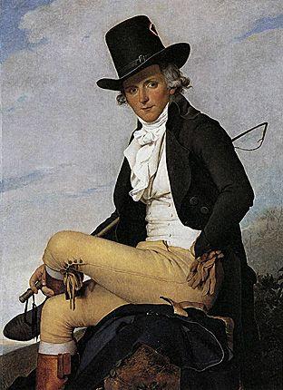 Portrait de Pierre Sériziat, 1795, Jacques Louis David, Paris, musée du Louvre