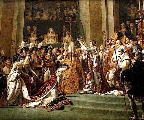 The Coronation of Napoleon - David - Louvre, Paris
