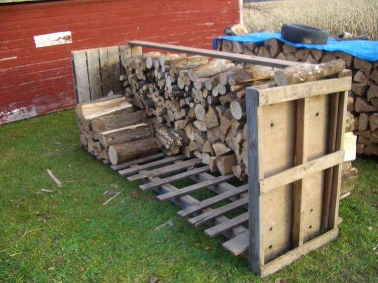10 best legnaia images on pinterest sheds firewood - Recycler des palettes ...