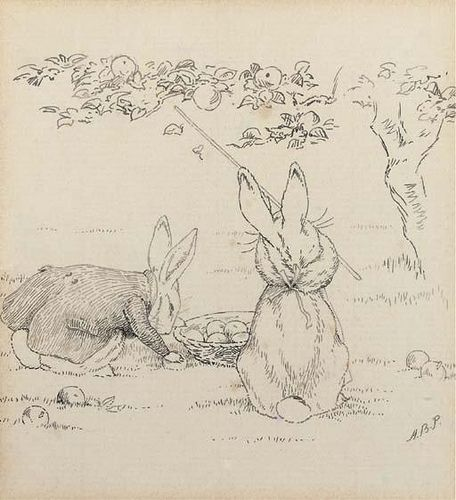 Many creations like Peter Rabbit began as characters illustrated ...