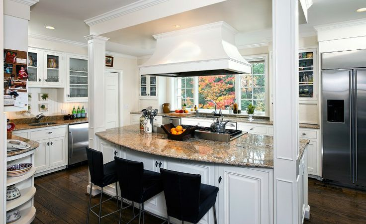 Gorgeous Kitchen Renovation In Potomac Maryland: 70 Best Kitchen Islands Images On Pinterest