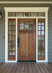 Solid Wood Front Door | eBay