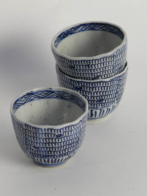 Japanese blue and white china beaker cup 8cm diamter. ** x11 available to & 89 best Japanese / Ceramics images on Pinterest | Japanese ceramics ...