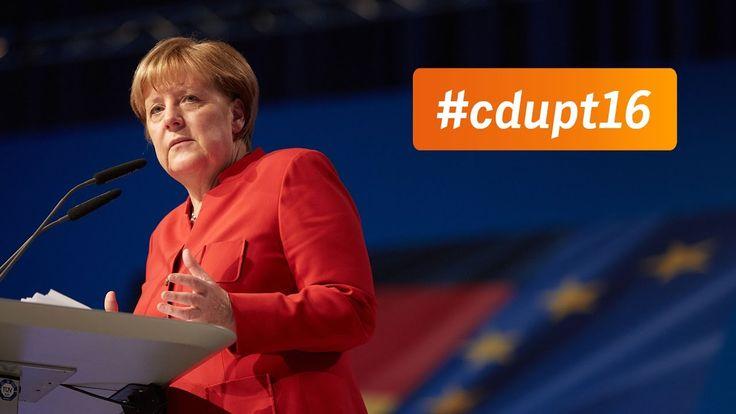 """#Parteitag 2016  #Best #of #von #Angela Merkels #Rede   #CDU   """"Freiheitliches #Leben #ohne #Sicherheit #nicht #moeglich."""" - #Sehen #Sie #hier #die #besten Zitate #aus #Angela Merkels #Rede #beim 29. #Parteitag #in #Essen. #cdupt16   http://saar.city/?p=35112"""