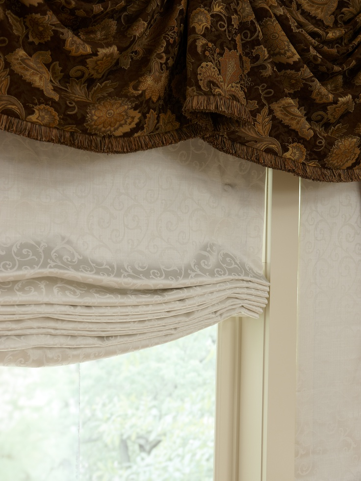 1000 Images About Fabric Roman Shades On Pinterest