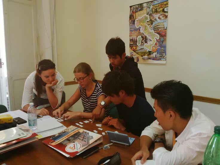 Attività in classe... #salerno #learnitalian #italiancourses #italianlanguage