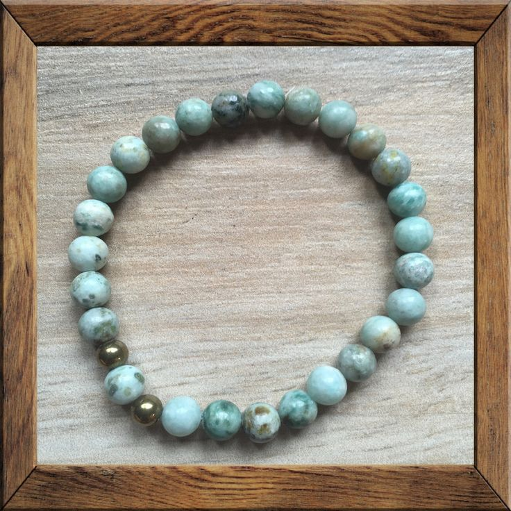 RID #OBSESSION #Mala: #KARMA #Gemstone Green #Jasper - Green Jasper is an exceptional stone for healing disease within the emotional system, especially in areas of obsession by balancing out parts of one's life that have become all-important to the detriment of others. It helps one recognize thought patterns and fixations that have become irrational, and brings the courage needed to express and accept them in order to move #forward.