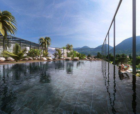 Skypool - Hotel Therme Meran in Südtirol