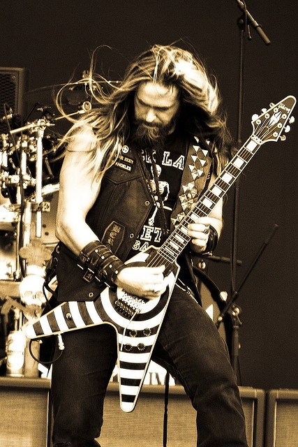 Zakk Wylde of Black Label Society Check out his arms! Id like to suggest my personal page about gift ideas, the page is http://ideiadepresente.com Eu queria sugerir a todos minha pgina sobre dicas de presentes, o site  http://ideiadepresente.com