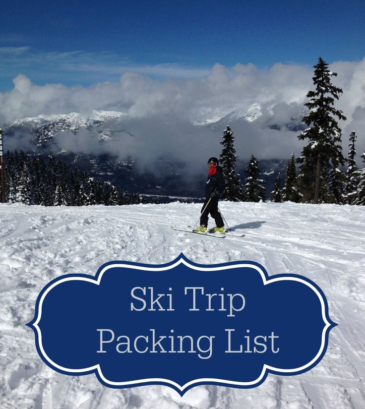 When it comes to packing for a ski trip for a family of five you have to have a game plan. That's why I have such an extensive ski trip packing list. For skiing Snowboots Ski pants Ski jacket Helme...