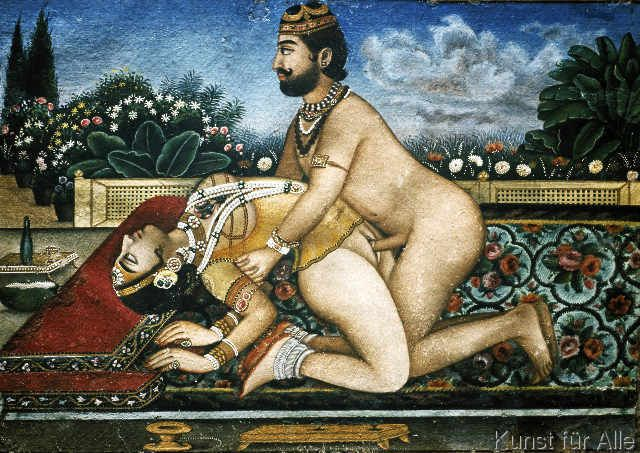 AKG Anonymous - Lovers / Tantra-Art/ 18th/19th century
