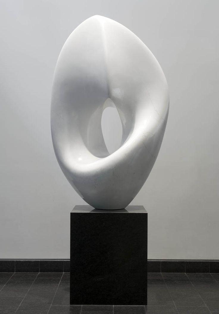 Antoine Poncet, Sisterwhite, About 1968, Marble | white sculpture art