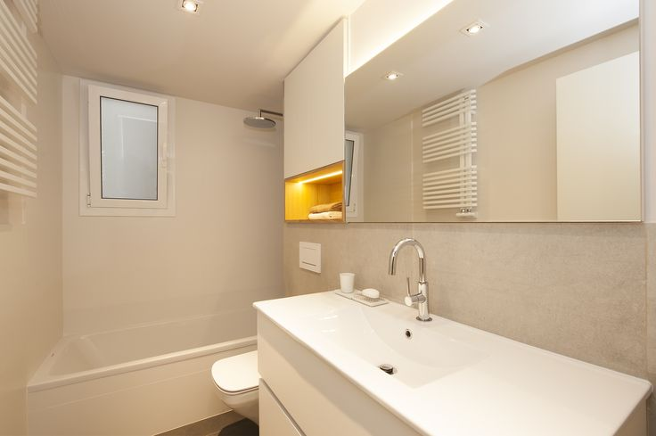 Baño principal | Sincro #baños #moderno