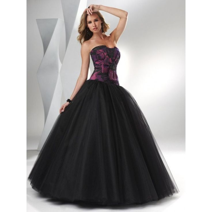 Black Wedding Host Dresses : Gothic wedding black dresses and dress