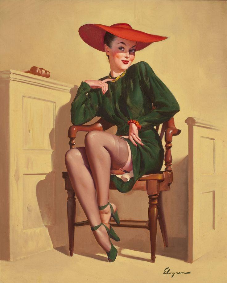 185 Best Images About Gil Elvgren Pin-Ups On Pinterest
