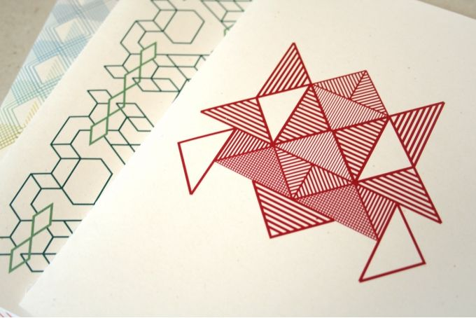 Geometrics Notebook by Past Present on hellopretty.co.za