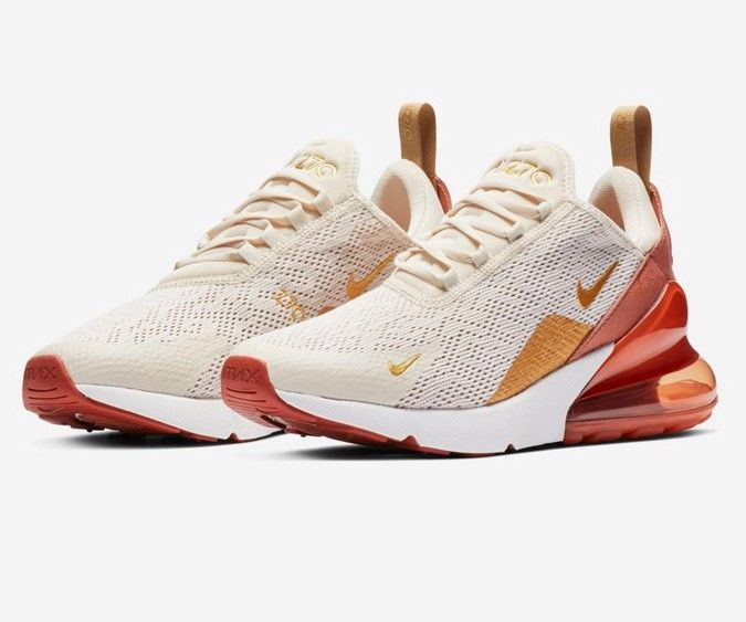 nike air max 270 couleur or