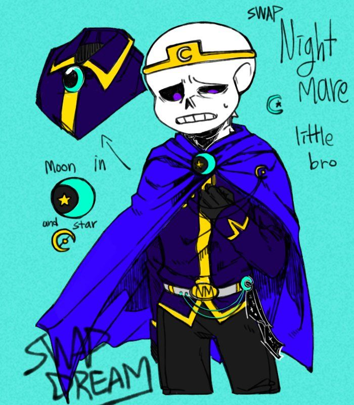 Dream!Swap Nightmare (P s the AU's real name is