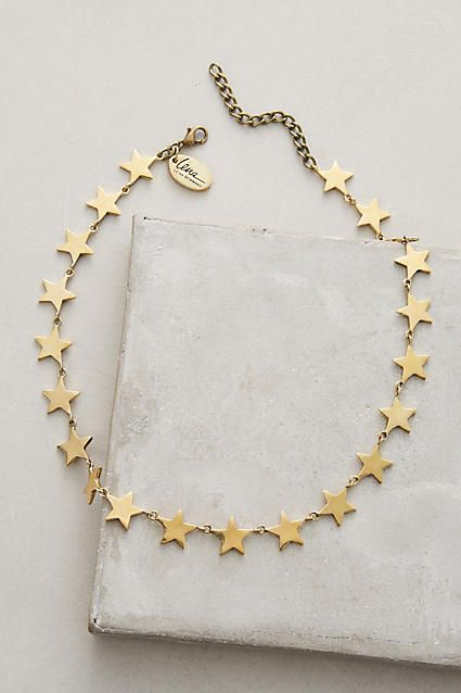 Spangled Choker - anthropologie.com