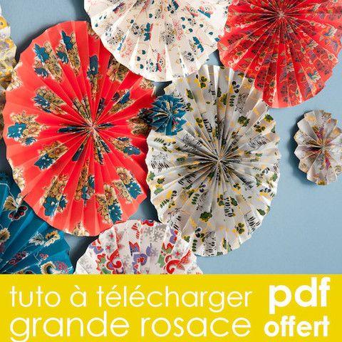 Tuto DiY déco - Grande rosace Ø40cm – Tout est DiY