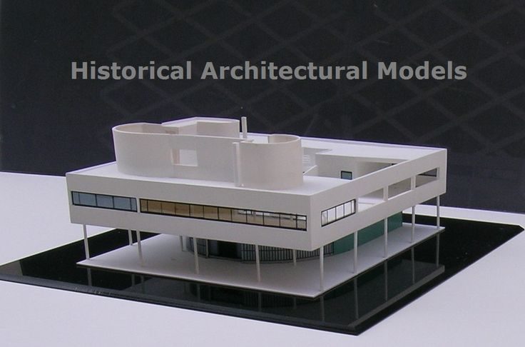 Le Corbusier, VILLA SAVOYE, modello in scala 1:100  - will be sent within 10 days after the 'Order to: hist.arch.models@gmail.com