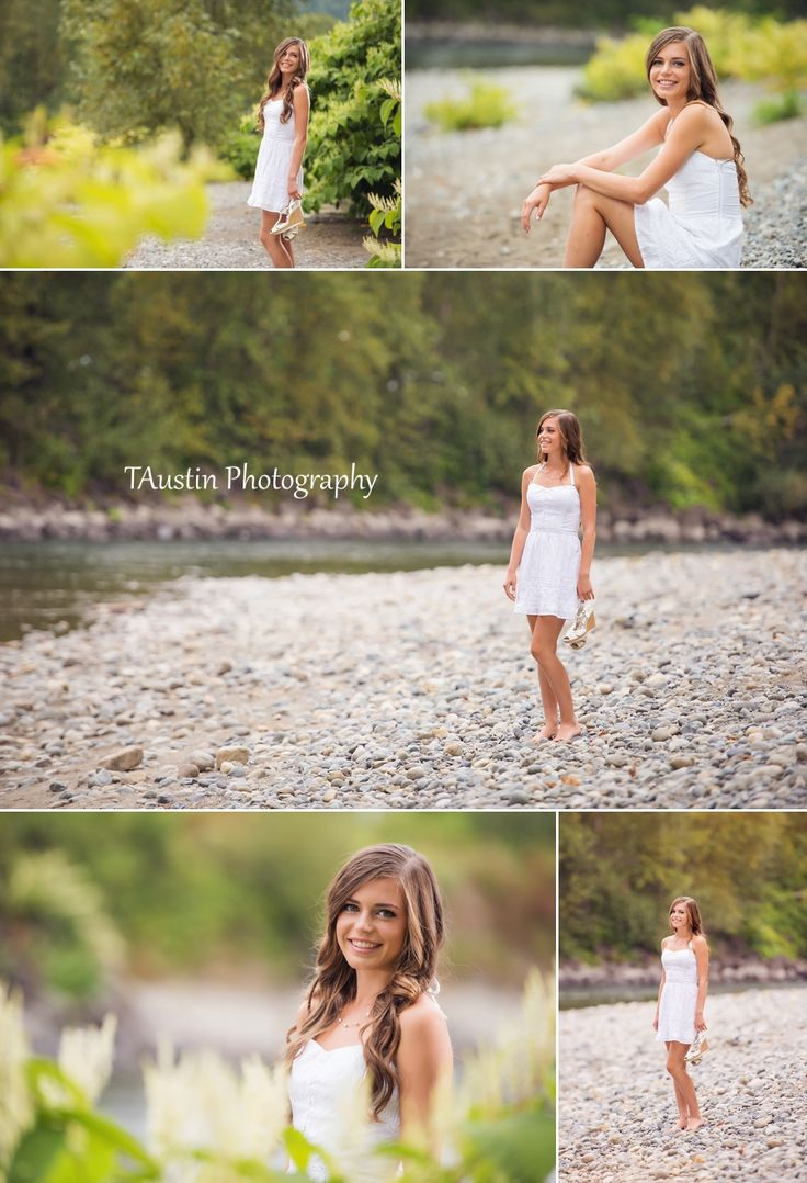 High School Senior Pictures Pose and Outfit Ideas | #Summer #Spring #Dress #Beach