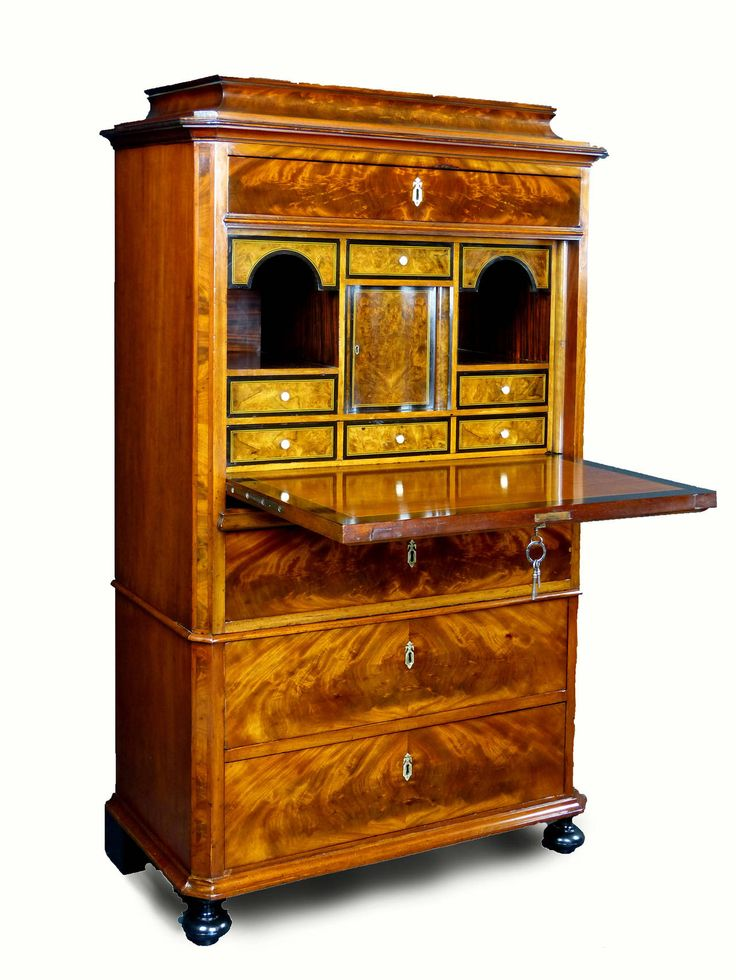 Secretaire Meuble Design Secretaire Biedermeier Denmark | Antique Furniture