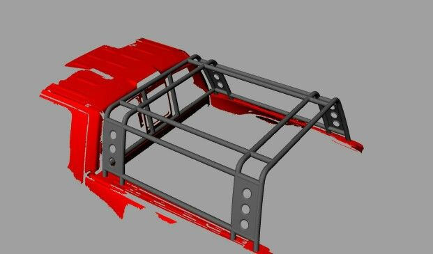 bed cage for a Commache build?