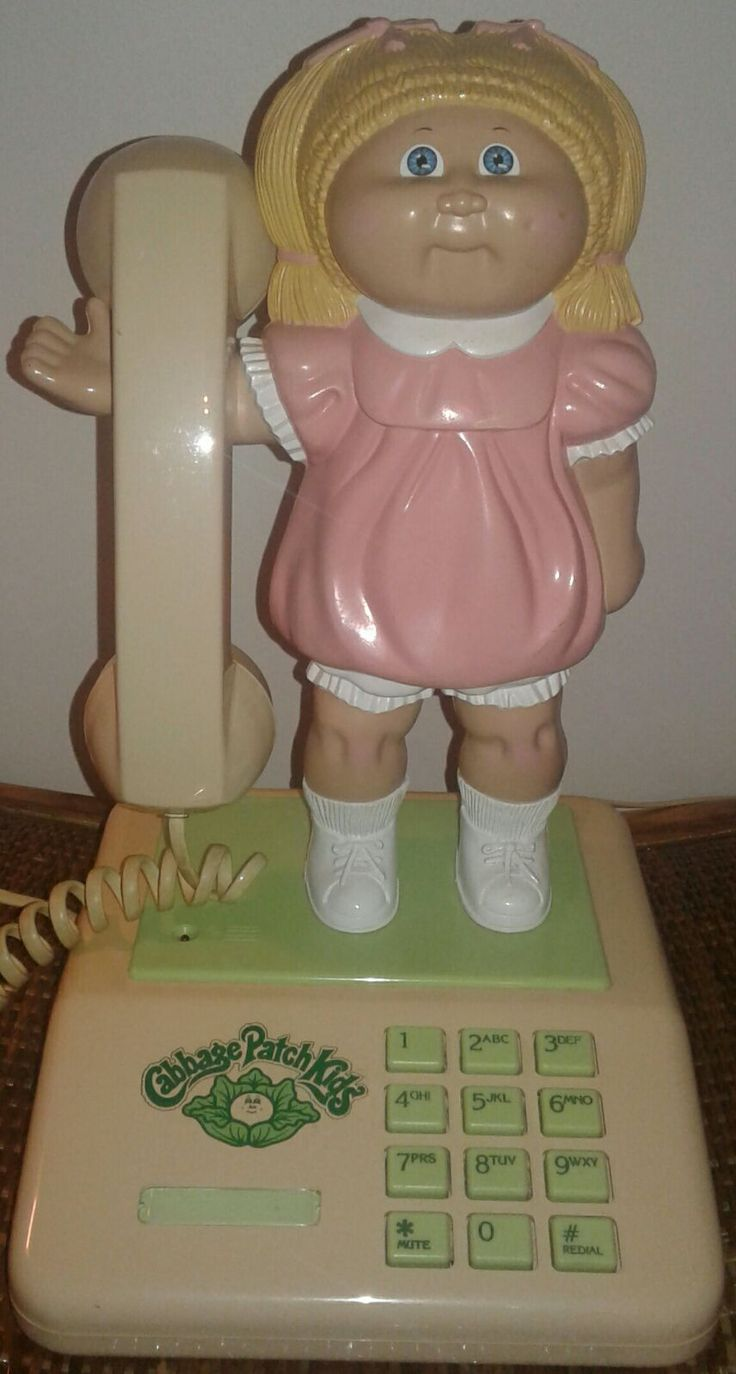 Cool item: Vintage Cabbage Patch Doll Telephone