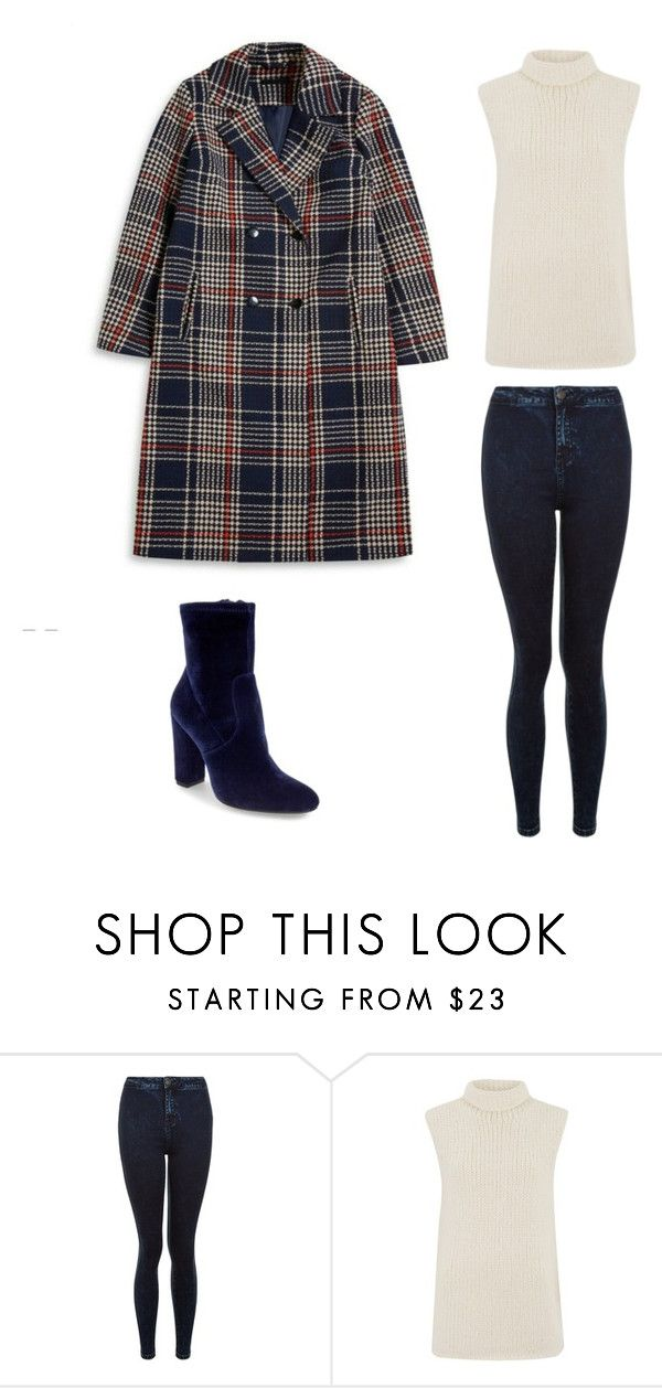 """""""Primark Coat"""" by sinead-kearns ❤ liked on Polyvore featuring New Look, Theory and Steve Madden"""