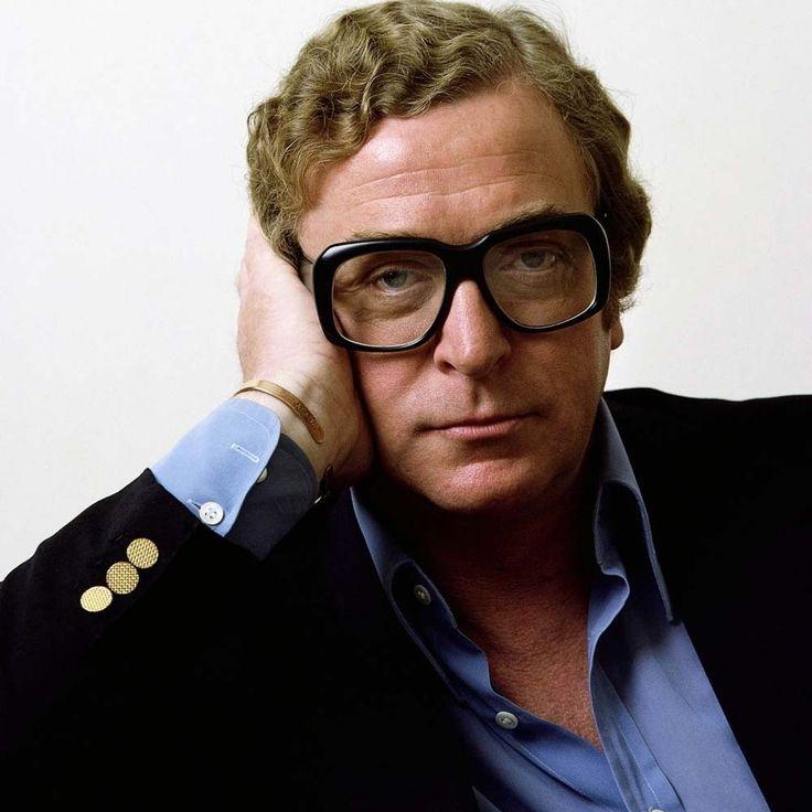 Michael Caine et ses lunettes! Un acteur qui a marqué plusieurs générations et ...